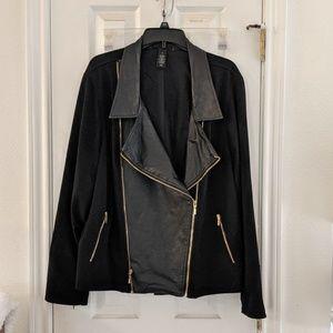 Lane Bryant Asymmetrical Moto Jacket